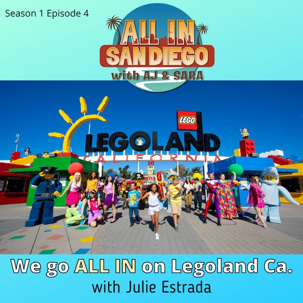 ALL IN on Legoland Ca. with Julie Estrada Image