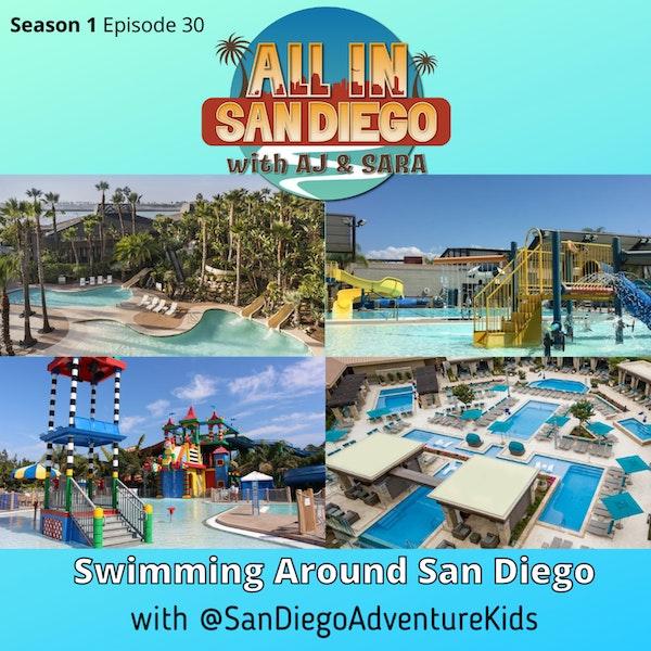 Swimming Around San Diego Image