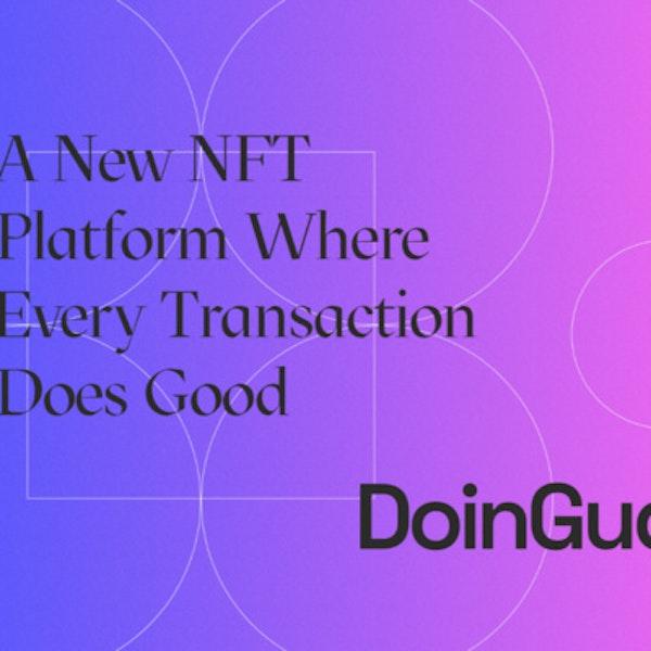 DoinGud NFT Marketplace with Nikoline Arns