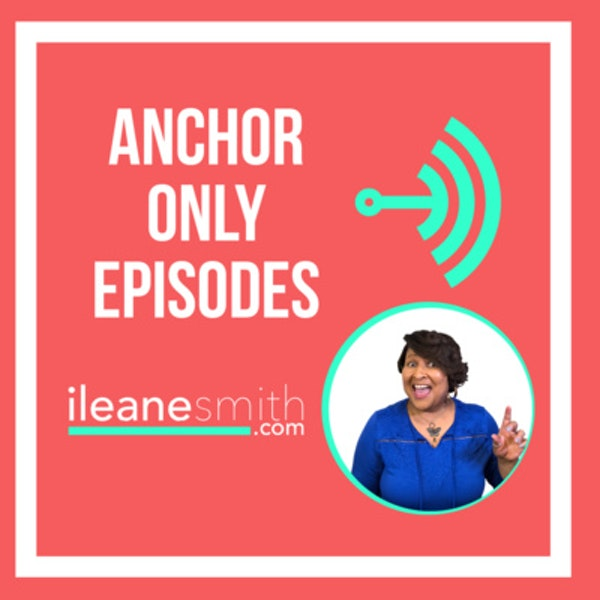 Get Community Feedback Using an Anchor Only Episode Image