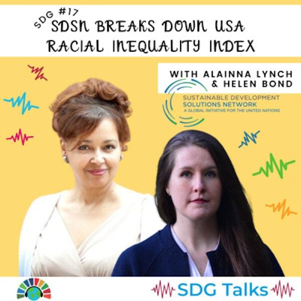 SDG 17 | SDSN Breaks Down USA Racial Inequality Index | Alainna Lynch and Helen Bond Image