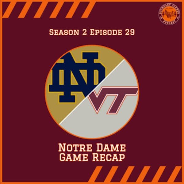 Notre Dame Game Recap