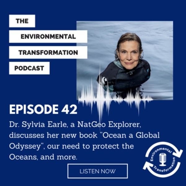 """Dr. Sylvia Earle, a NatGeo Explorer, discusses her new book """"Ocean a Global Odyssey"""", our need to protect the Oceans, and more. Image"""