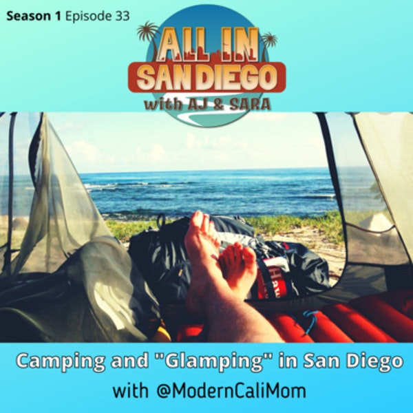 """Camping and """"Glamping"""" in San Diego Image"""