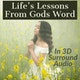Lifes Lessons in GOD's words in 3D Surround Audio Album Art