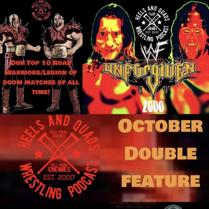 Episode image for 233. Top 10 Road Warrior Matches/WWF Unforgiven 2000