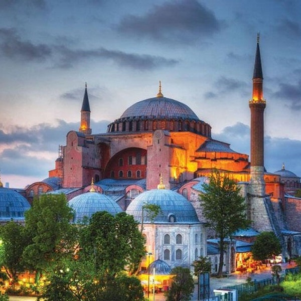 Turkey turns Hagia Sophia into mosque Image