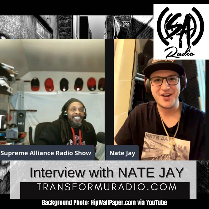 Episode image for Music Interview with Hip Hop artist Nate Jay