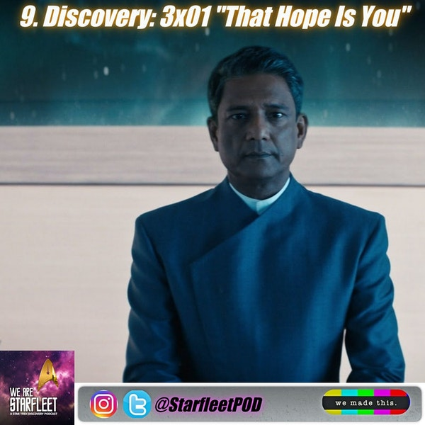 """9. Discovery: 3x01 """"That Hope Is You"""""""