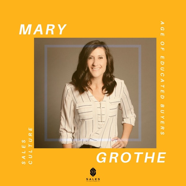 125. How to Make $60k Off Podcast Guesting | Mary Grothe - SalesBQ Image