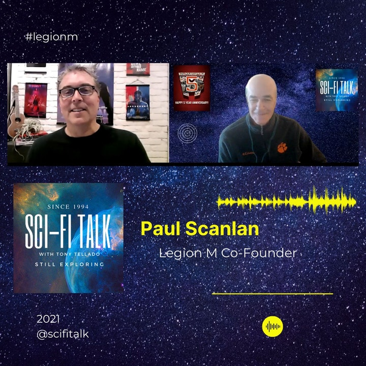 Legion M At 5 With Paul Scanlan