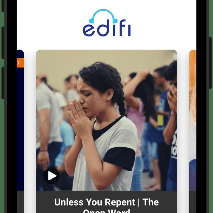 Edifi Podcast App and our Podpage