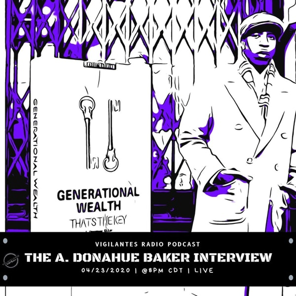 The A. Donahue Baker Interview. Image