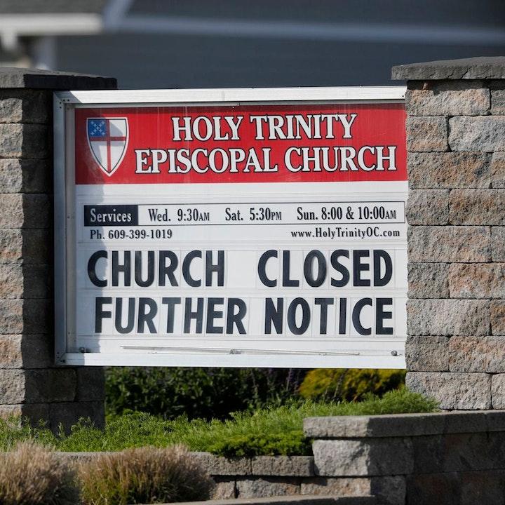 No Worship Services Until 2021