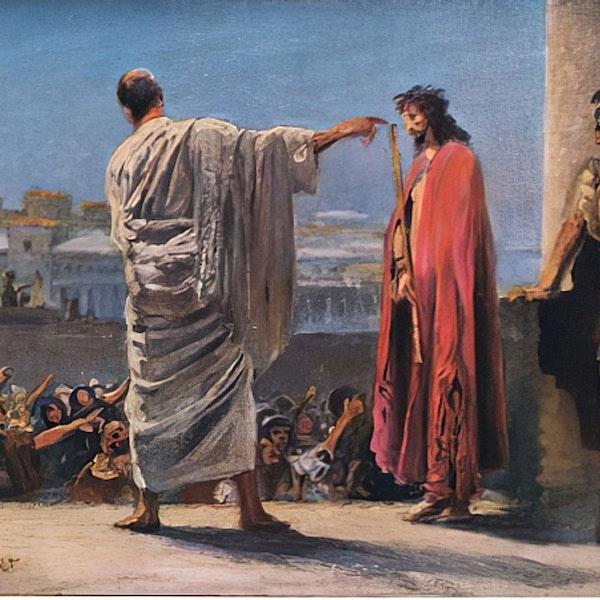 Jesus Barabbas or Jesus Christ Image