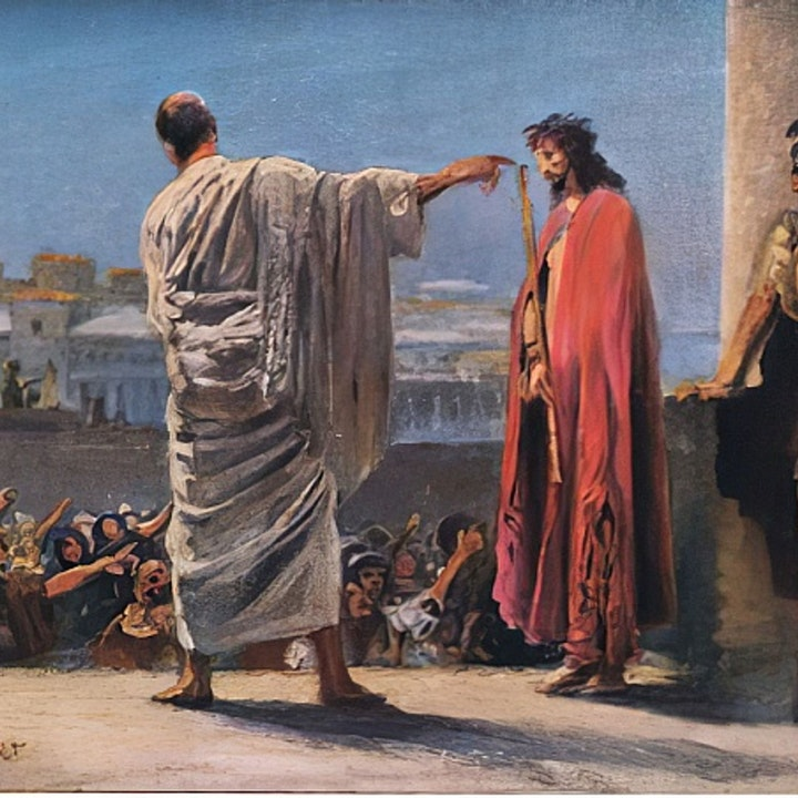 Jesus Barabbas or Jesus Christ