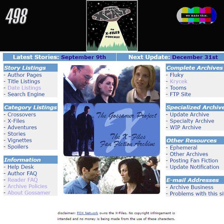 498. Patron Roundtable #16: X-Files & Fan Fiction