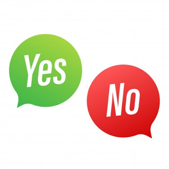Bible Study Exercise: Yes and No