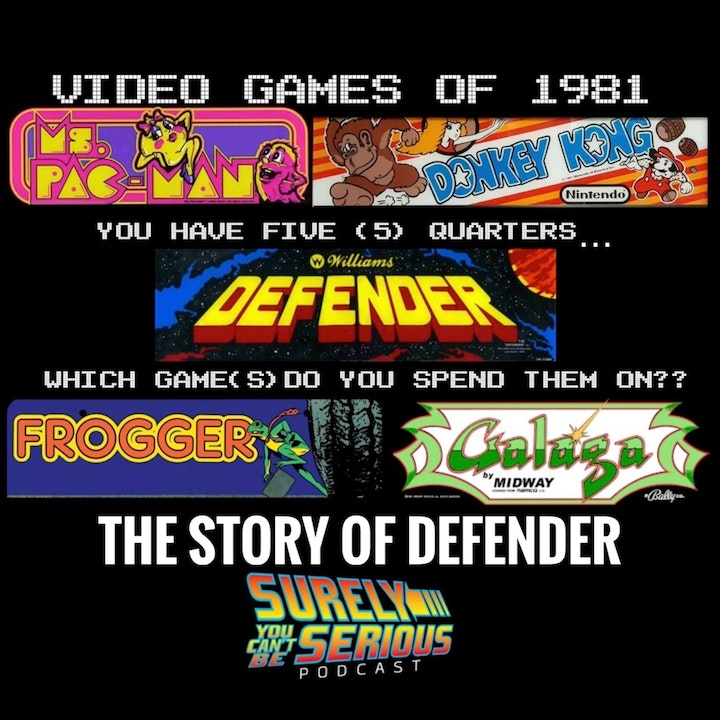 The Video Games of 1981 - Level 5: Defender