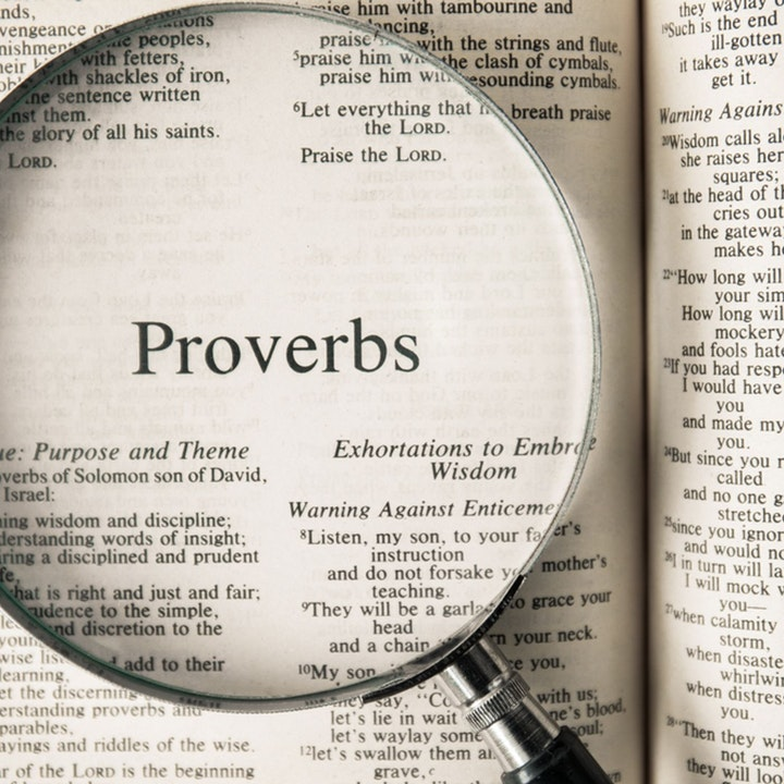 Summer of Proverbs Pt 3