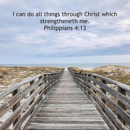 Bible Study Exercise: I Can Do All Things Image