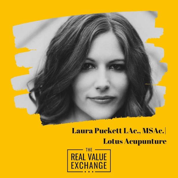 107.  Laura Puckett Podcast   Lotus Acupuncture Charlotte Image