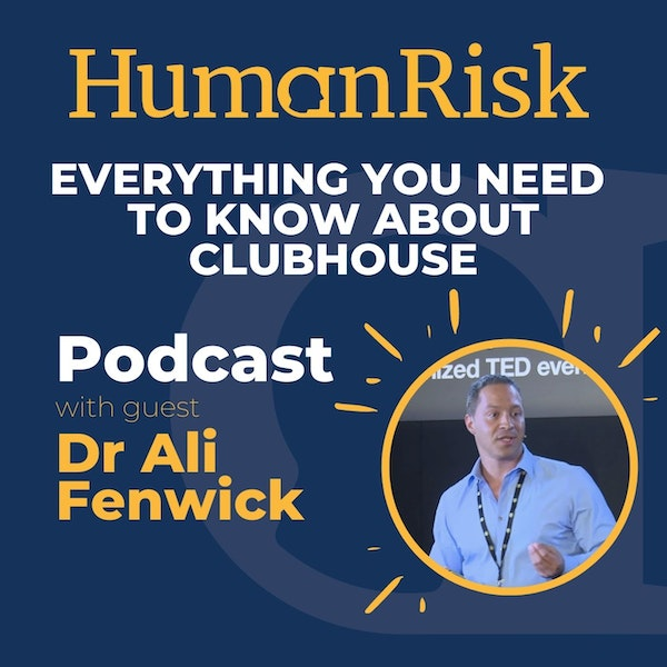 Dr Ali Fenwick on Clubhouse - what is it & why should you care? Image