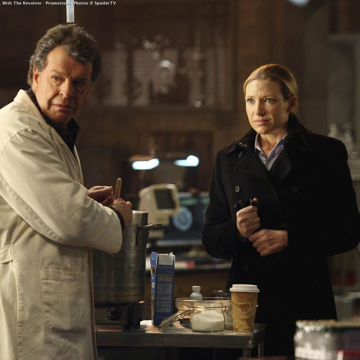 38. Olivia. In The Lab. With The Revolver.