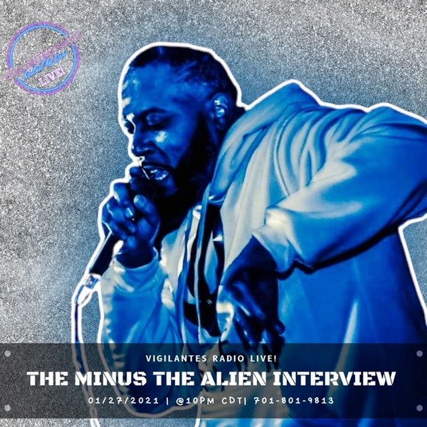 The Minus the Alien Interview. Image