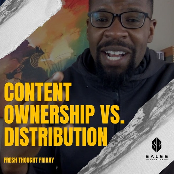 134. Content Strategy Understanding Ownership vs Distribution with Joe Lemon Image