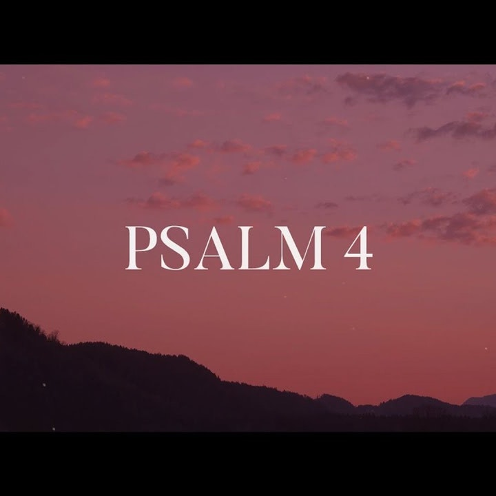 Bible Study Exercise: Psalm 4