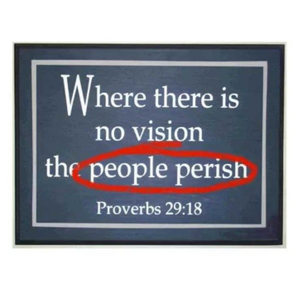 Where There is No Vision Image