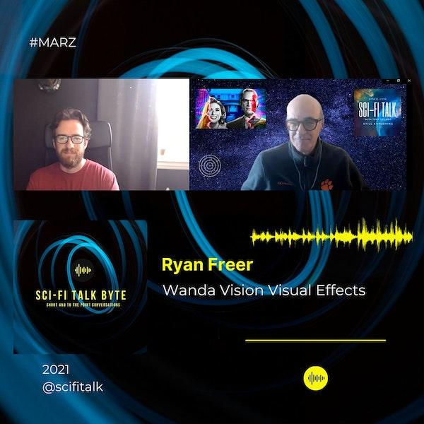 Byte Ryan Freer On Wanda Vision Effects