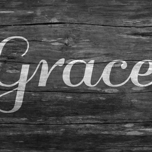 Grace of God in the Face of God Image