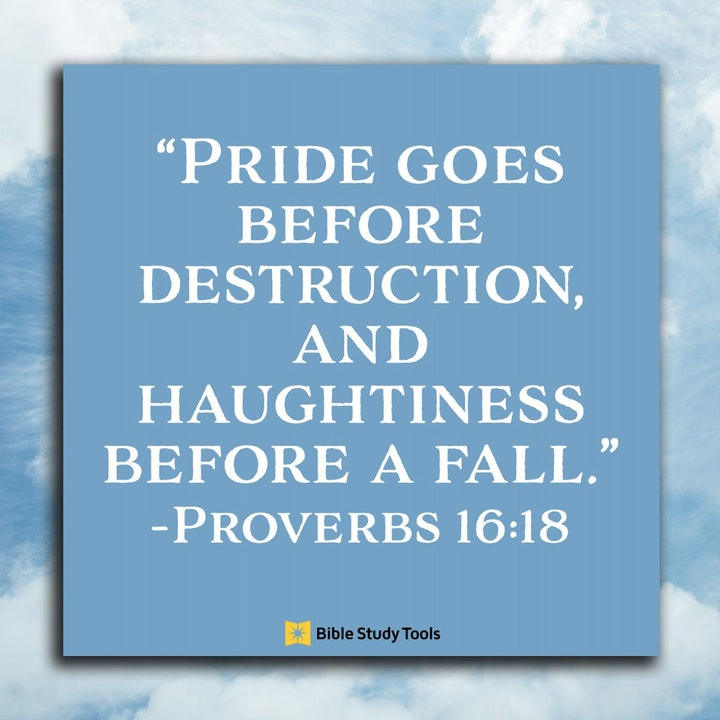 Bible Study Exercise: Pride