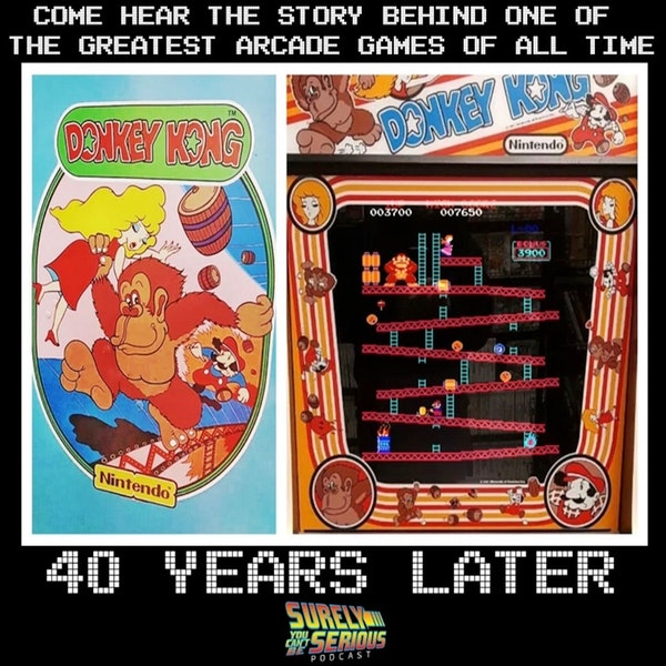 Donkey Kong is 40 years old! (Best of the arcade games of 1981) Image