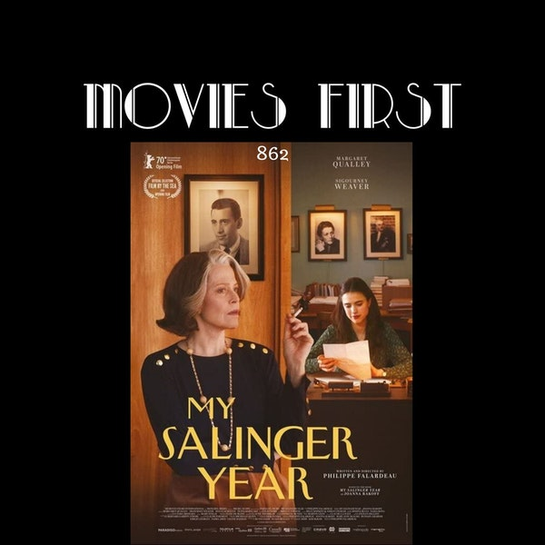 My Salinger Year (Drama) (the @MoviesFirst review)