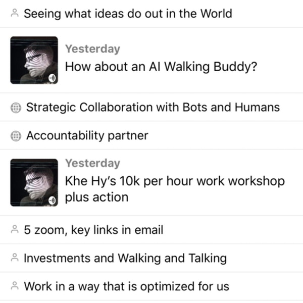 Mining Our Best Audio Brainstorms with Airr