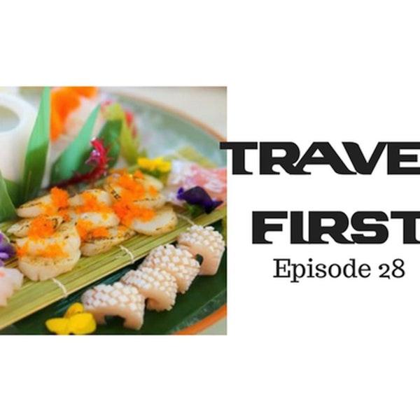 29: Sydney Part 2 - The R.K.  San Japanese Restaurant - Travel First with Chris Coleman & Alex First