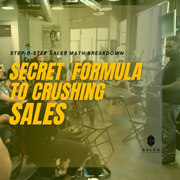 114. Secret Formula to crushing sales targets | $400k and counting Image
