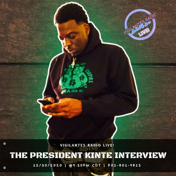 The President Kinte Interview. Image