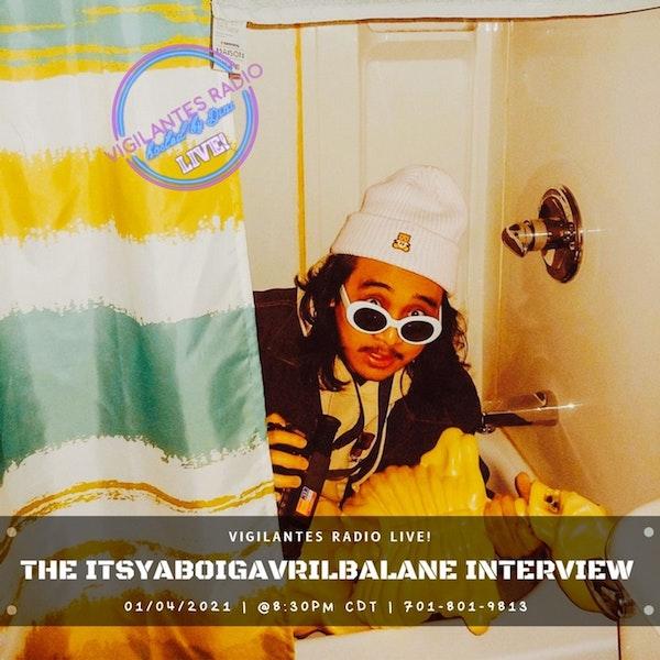 The Itsyaboigavrilbalane Interview. Image