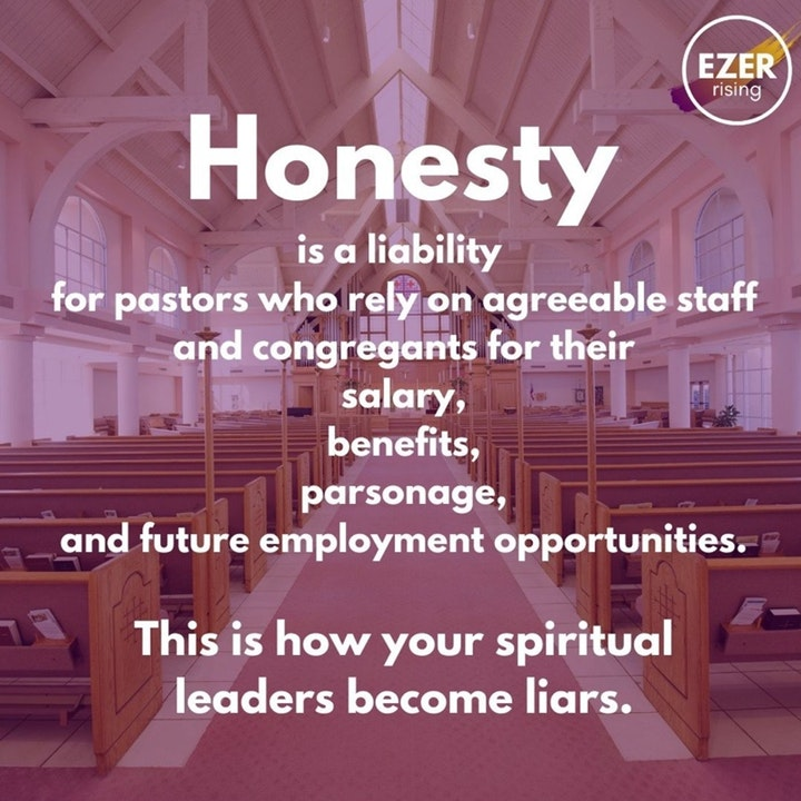 How Pastors Become Liars