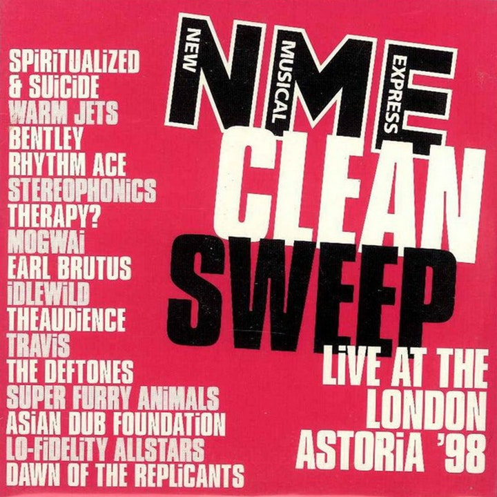 Free With This Month's Issue 23 - Mark Adams selects NME Clean Sweep
