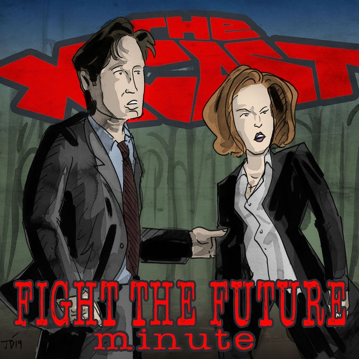 403. Fight the Future Minute #24: Mulder & Skinner