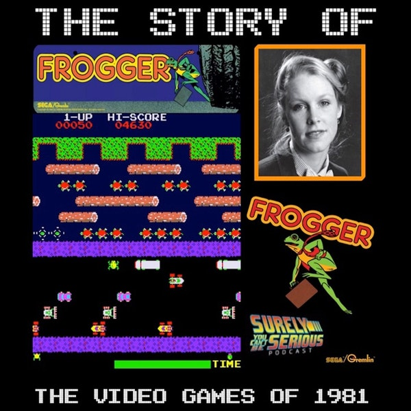 Video Games of 1981 Level 3: Frogger Image