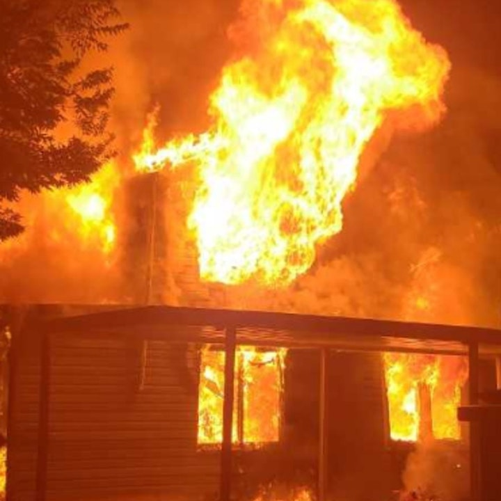 Dream Home Goes Up in Flames