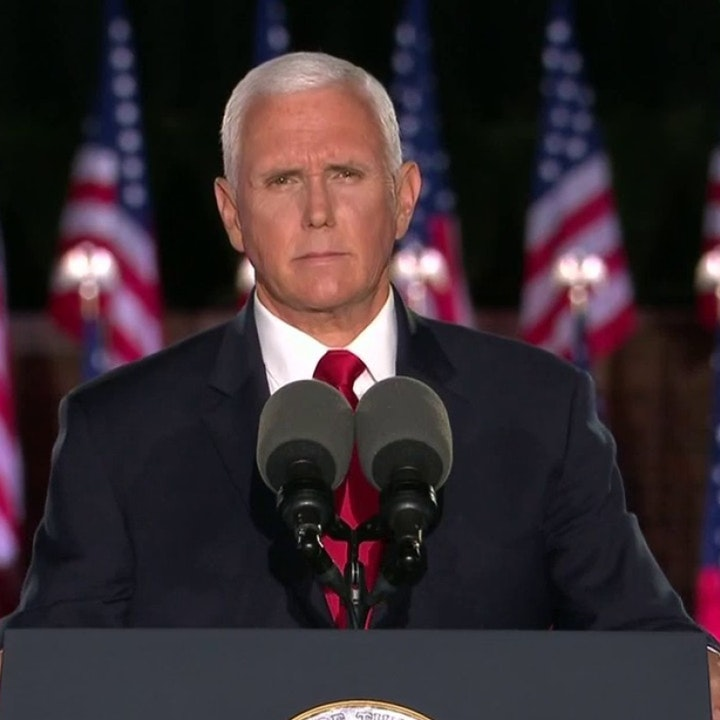 Mike Pence Switches out Jesus for the American  Flag