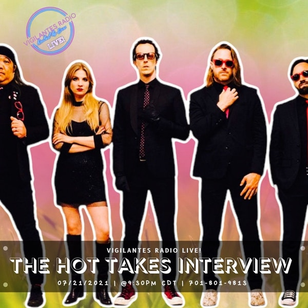 The Hot Takes Interview. Image