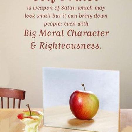 Bible Study Exercise: Praising Yourself Image